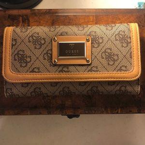 Guess Scandal SLG Slim Clutch Bag Wallet